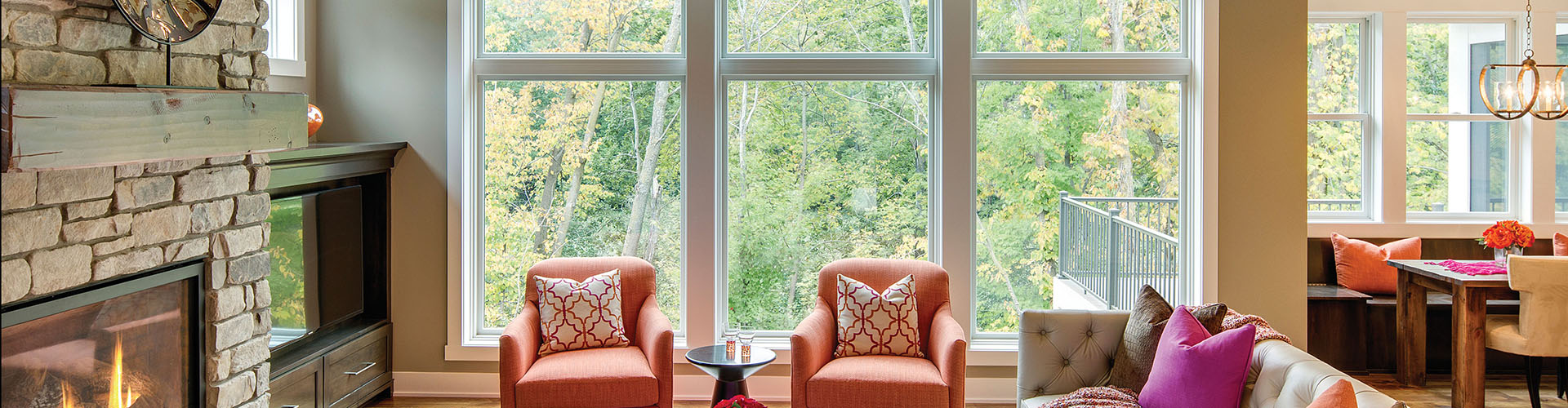 Andersen Single-Hung Picture windows Denver Centennial